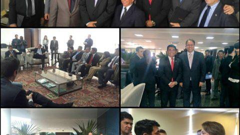 Deputado Wellington representa o Maranhão na V Reunião Ampliada do Parlamento Amazônico em Tocantins