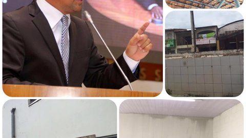 """""""Não construiu as 25 creches que prometeu e a única que existe ainda tem goteira e teto rachado"""", denuncia deputado Wellington ao solicitar reforma de creche em São Luís"""