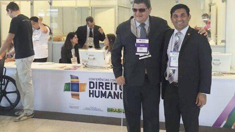 Em Brasília, Wellington defende direitos dos maranhenses durante as Conferências Conjuntas de Direitos Humanos