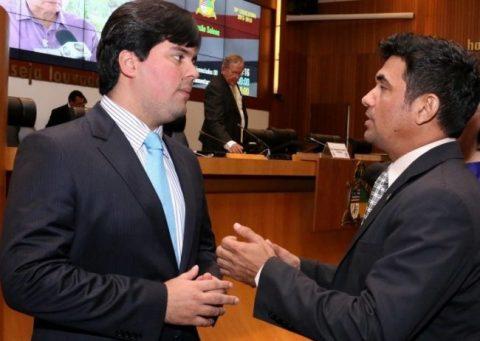 Wellington parabeniza André Fufuca por ter sido eleito deputado federal mais atuante do Maranhão e o 10º do Brasil