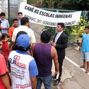Wellington defende indígenas e cobra cumprimento de Termo de Compromisso firmado com o Governo do Maranhão - Foto Elias Auê