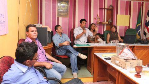 Wellington participa de reunião com agricultores rurais em Axixá