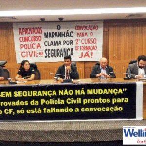 Wellington reafirma compromisso com a segurança ao parabenizar delegados de polícia do Maranhão