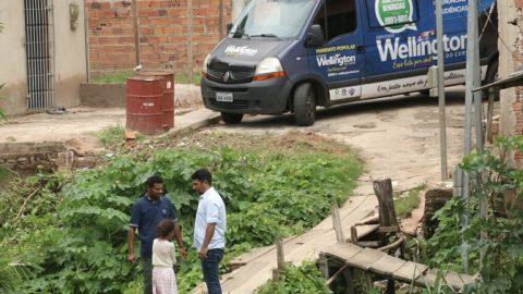 """Deputado Wellington reinaugura """"Gabinete Móvel"""" com ação na Zona Rural de São Luís"""