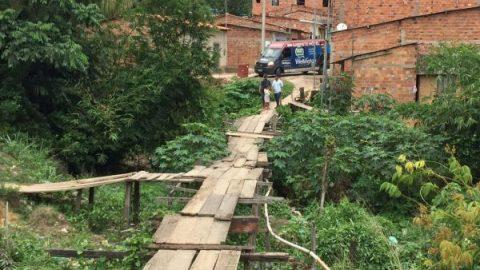 """""""A Zona Rural de São Luís está abandonada"""", diz Wellington ao cobrar construção de ponte na Vila Itamar"""
