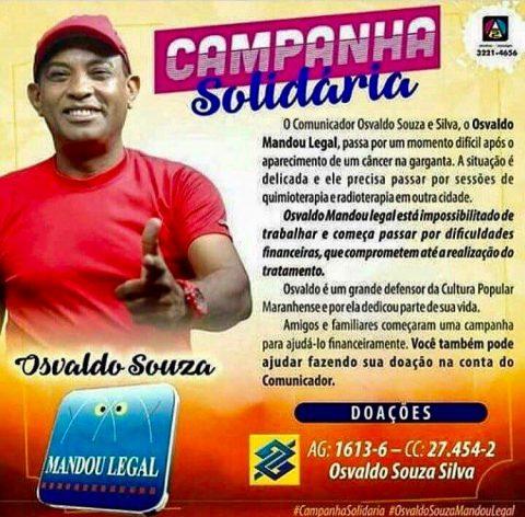 """Deputado Wellington se solidariza com o comunicador Osvaldo Silva do programa """"Mandou Legal"""""""