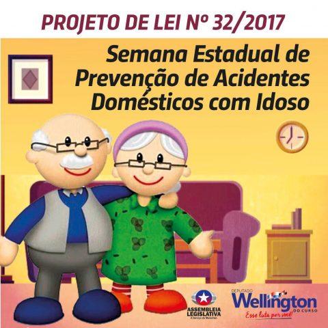 Projeto do deputado Wellington previne acidentes domésticos com idosos no Maranhão