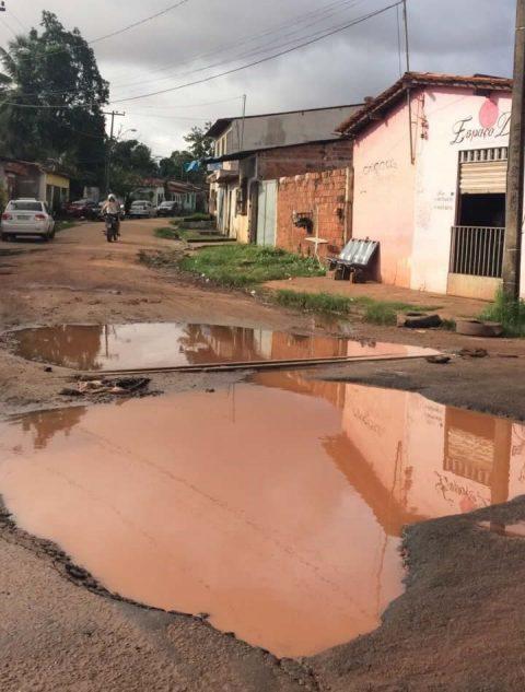 """""""Os moradores da Vila Janaína não aguentam mais tanto abandono"""", diz Wellington ao cobrar ações da Prefeitura de São Luís"""