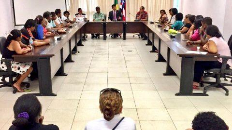 Deputado Wellington se reúne com vendedores ambulantes que foram expulsos dos Terminais de São Luís