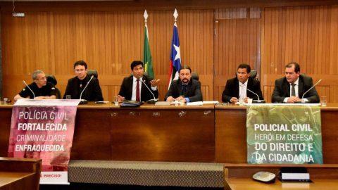 Deputado Wellington defende valorização salarial, aumento de efetivo e reforma de delegacias da Policia Civil do Maranhão