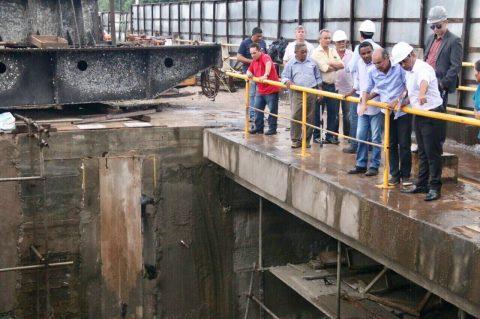 Deputado Wellington fiscaliza recuperação da Barragem do Bacanga e solicita brevidade na conclusão das obras