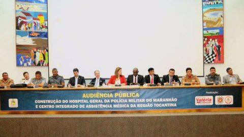 Deputado Wellington defende criação do Hospital da PM/Bombeiros e destina R$ 300 mil para construção da obra