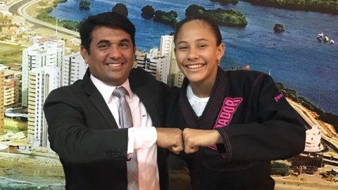 """""""Incentivar um atleta é garantir uma vitória para o Maranhão"""", diz deputado Wellington sobre jovem de 13 anos que participará de Mundial de Jiu-Jitsu"""