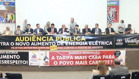 """""""Fomos contra o aumento do ICMS por parte do Governo e somos contra esse novo aumento de energia"""", dispara deputado Wellington em audiência pública"""
