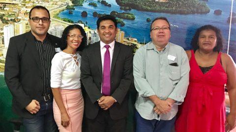 Trabalhadores da Rodoviária de São Luís fazem denúncias e solicitam ao deputado Wellington do Curso realização de audiência