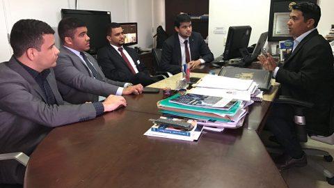 Deputado Wellington na luta em defesa do piso salarial dos advogados do Maranhão