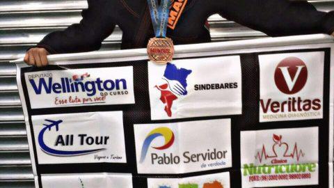 """""""Isso comprova que devemos sim investir em nossos jovens e no esporte"""", diz Wellington sobre vitória de atleta maranhense de 13 anos em mundial de Jiu-Jitsu"""