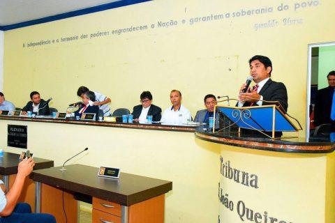 """""""Na luta pelo desenvolvimento e crescimento de Açailândia"""", destaca deputado Wellington durante audiência pública"""