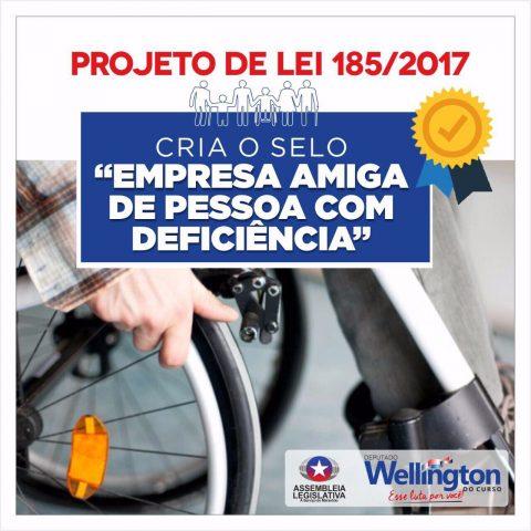 """Projeto de Lei do deputado Wellington garante mais vagas de emprego para pessoas com deficiência no Maranhão"""""""