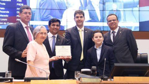 """""""É uma prova de amor e solidariedade"""", diz deputado Wellington ao homenagear Fundação Antônio Dino por 40 anos de existência"""