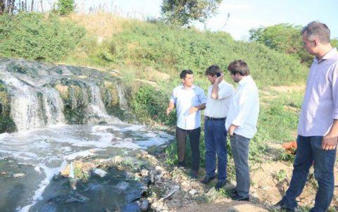 Ministério Público aciona Caema e município de Imperatriz por lançamento de esgotos no Rio Tocantins após denúncia do deputado Wellington