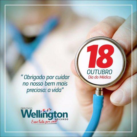 No dia do médico, deputado Wellington volta a solicitar a criação do Curso de Medicina na UEMA em São Luís e UEMA SUL em Imperatriz