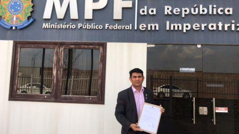 Deputado Wellington denuncia Caema e Governo do Estado por crime ambiental no MPF e na PF em Imperatriz