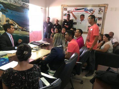 Deputado Wellington se reúne com contratados do Biosaúde que reclamam de atrasos nos repasses do Governo do Estado