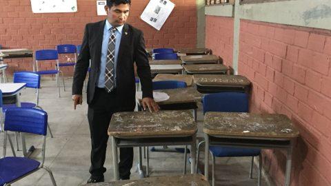 Deputado Wellington convoca Governador Flávio Dino e seus secretários para conhecerem a realidade das escolas do Maranhão
