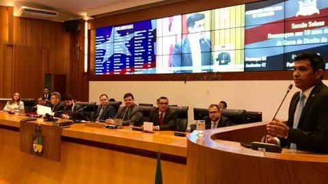 Wellington destaca as conquistas dos 10 anos do curso de direito da UEMA