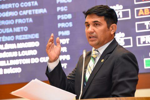 Deputado Wellington volta a defender candidatos aprovados no concurso da PMMA