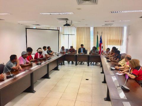 Deputado Wellington se reúne com representantes de manifestações culturais do Maranhão