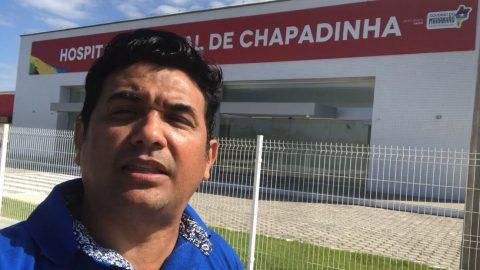 Deputado Wellington cobra de Flávio Dino o funcionamento do Hospital Regional de Chapadinha