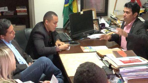 Deputado Wellington se reúne com agentes penitenciários do Maranhão
