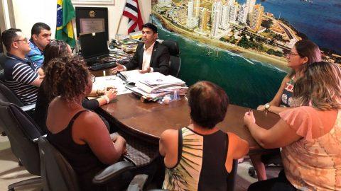 Deputado Wellington se reúne com moradores do bairro Bequimão e apresenta as reivindicações ao Comandante da PMMA