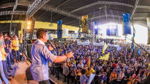 Grande Convenção do PSDB lança candidatura do deputado estadual Wellington do Curso à reeleição