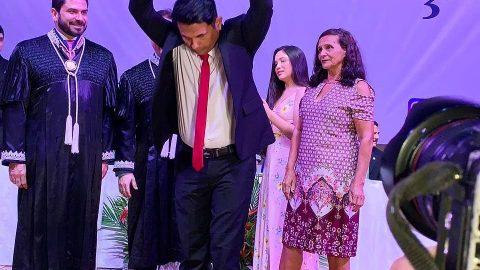 """""""O diploma de deputado estadual é do povo do Maranhão"""", diz Wellington durante solenidade de diplomação do TRE"""