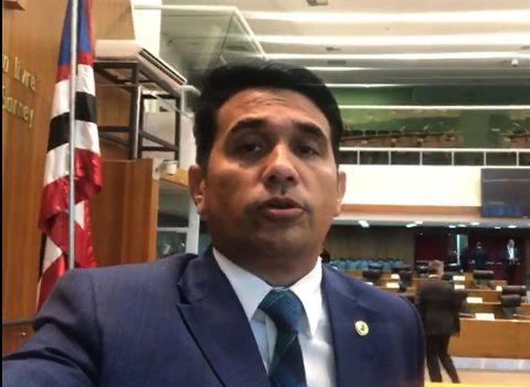 Deputado Wellington é contra alta no preço de combustíveis e impede votação de projeto de Flávio Dino que aumenta impostos no Maranhão