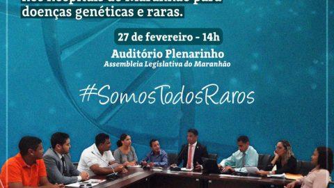 Deputado Wellington convida população para audiência que discutirá ações em defesa das pessoas com doenças genéticas e raras