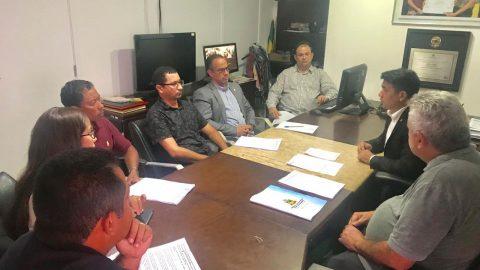 Deputado Wellington reúne-se com engenheiros ambientais para tratar de fiscalização em barragens e lagos da Alumar