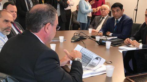 Deputado Wellington volta a cobrar que Flávio Dino reduza ICMS durante reunião com donos de postos de combustíveis no Maranhão