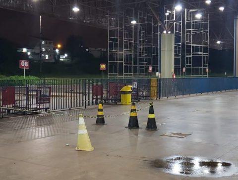 """""""Por falta de manutenção do governo do estado, teto da rodoviária de São Luís pode desabar"""", alerta Wellington do Curso"""