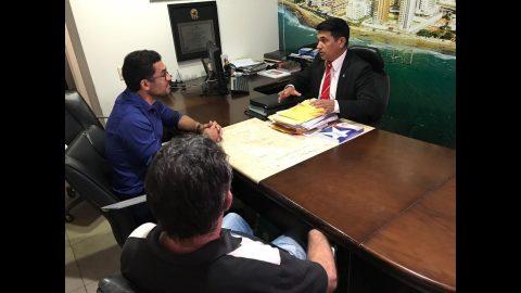 Deputado Wellington se reúne com o pré-candidato à reitoria da UFMA professor João de Deus