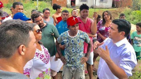 Deputado Wellington defende famílias da Vila Maranhão que correm risco de ficar desabrigadas
