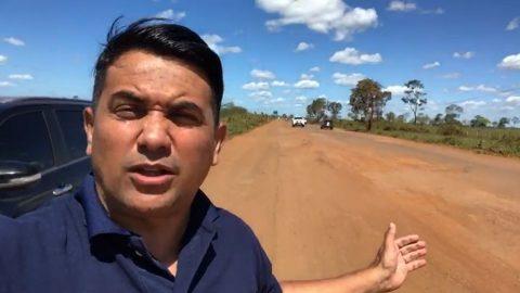 """""""Enquanto Flávio Dino e Bolsonaro perdem tempo na internet, as estradas do Maranhão estão intrafegáveis"""" diz deputado Wellington"""