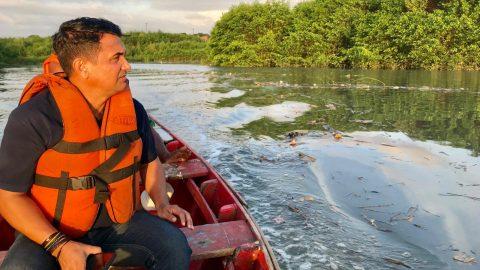 Wellington do Curso denúncia crimes ambientais e poluição nos dois principais rios de São Luís