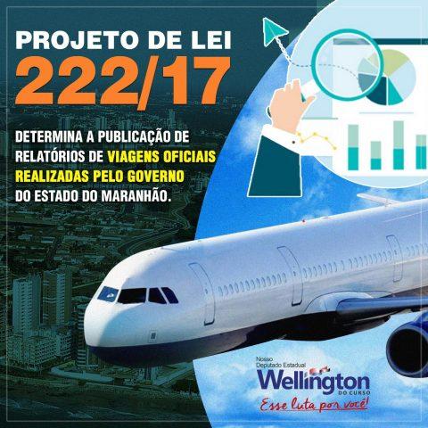 Deputado Wellington solicita desarquivamento de projeto que determina ao Governo do Estado divulgar relatório de viagens