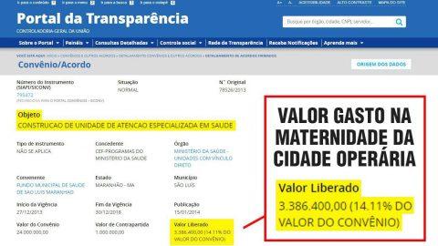 Wellington do Curso exige que Prefeito de São Luís explique onde gastou R$ 3,3 milhões e denuncia abandono das obras da Maternidade da Cidade Operária