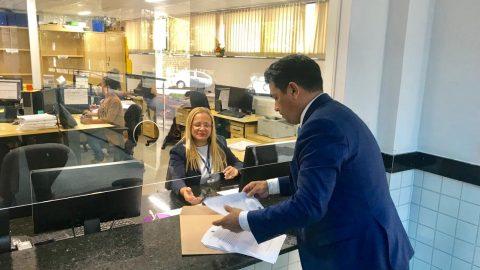 Deputado Wellington aciona Ministério Público para investigar contratações ilegais na AGED/MA