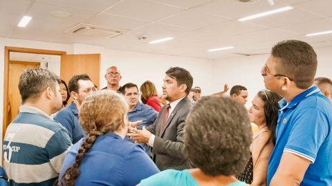 Wellington do Curso defende feirantes do São Francisco durante audiência no Ministério Público